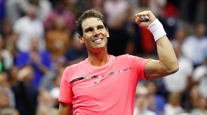 Us Open, Nadal è in semifinale: travolto Rublev