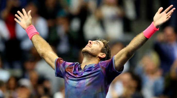 Us Open, impresa Del Potro: Federer finisce ko e salta la sfida con Nadal