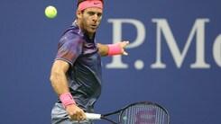 Tennis, Us Open: Del Potro scala le quote, il trionfo a 2,65