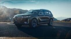BMW X7 iPerformance Concept: maxi lusso ibrido