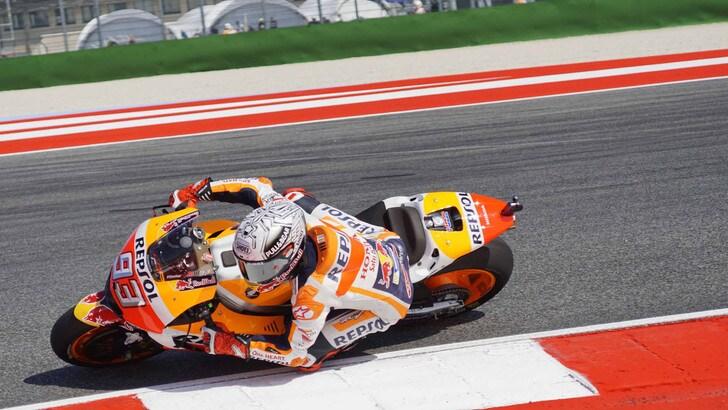 MotoGp San Marino, Marquez: «Mi sento bene in pista»