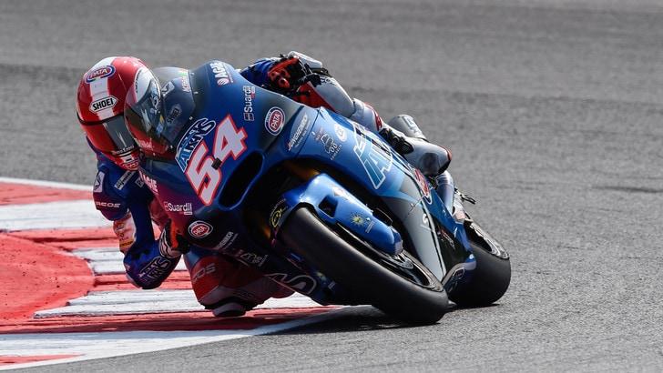Moto2 San Marino, in pole c'è ancora Pasini