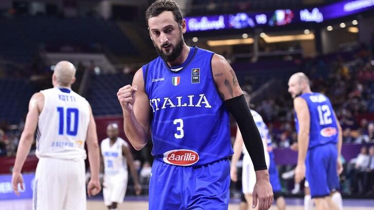 EuroBasket 2017: Belinelli stende la Finlandia, Italia nei quarti
