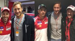 MotoGp, Totti ospite a Misano: «Io prossimo tecnico della Roma? No, tranquilli»