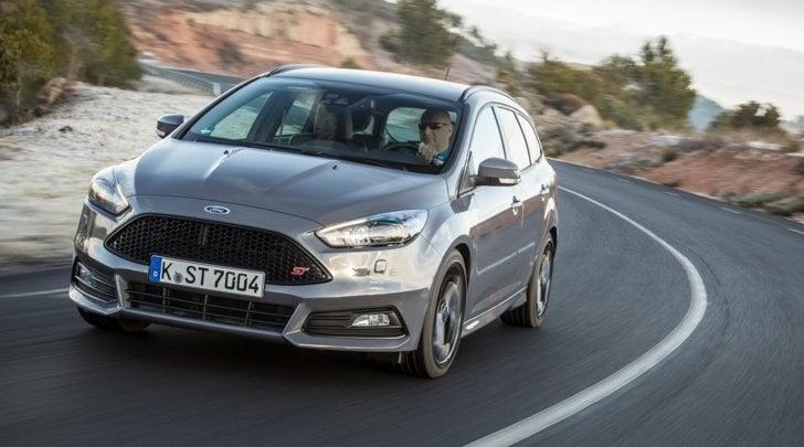 Ford Focus ST3 Wagon: prova su strada