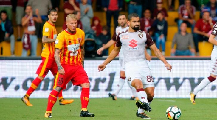 Serie A Benevento-Torino 0-1, il tabellino