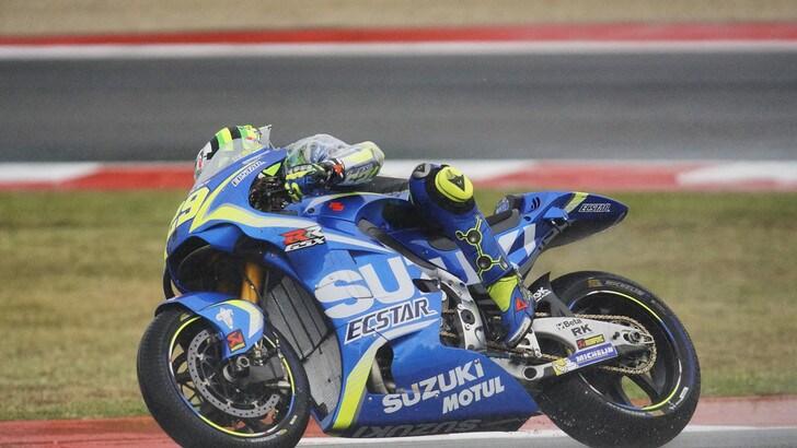 MotoGp Suzuki, Iannone: «La tuta mi ha ostacolato la circolazione»