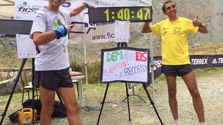 Impresa riuscita: record al Monviso per Bernard Dematteis