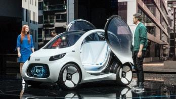 Smart al Salone di Francoforte: dal 2022 solo auto elettriche
