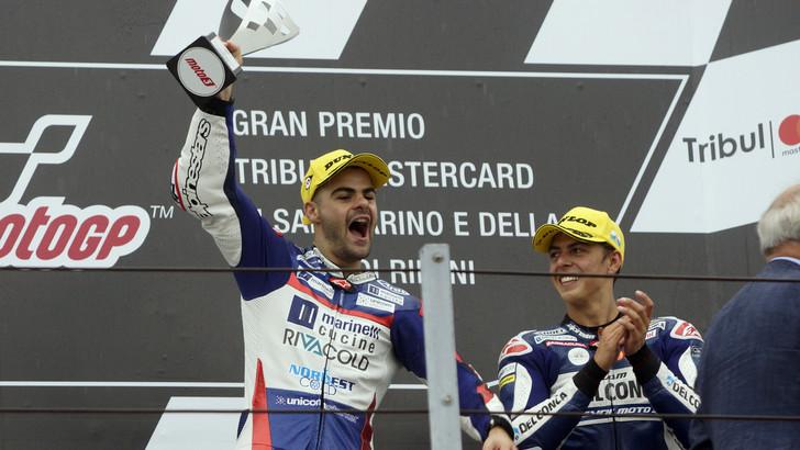 Moto3, Fenati: «È stata una grande vittoria, ora testa ad Aragòn»
