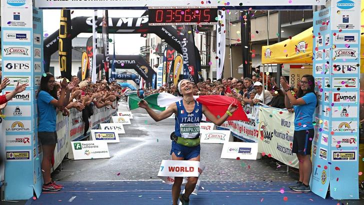 Rampazzo e Italia campioni mondiali di corsa in montagna lunghe distanze