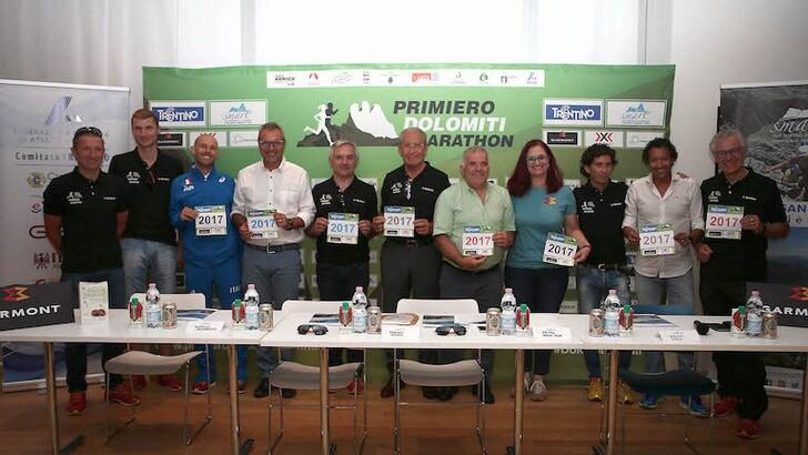 La Primiero Dolomiti Marathon va a quota 2000