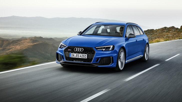 Audi porta al Salone di Francoforte la nuova RS4 Avant: quota 450 cv