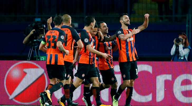 Champions League Shakhtar-Napoli 2-1, il tabellino