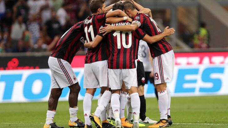Europa League, il Milan svetta nelle quote