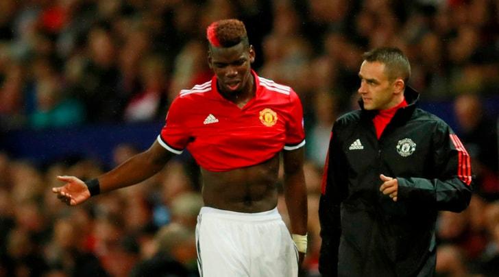Manchester United, infortunio al ginocchio per Pogba: rischia lungo stop