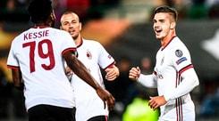 Europa League, Austria Vienna-Milan 1-5: André Silva dà spettacolo con una tripletta