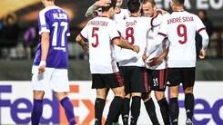 Europa League Austria Vienna-Milan 1-5, il tabellino