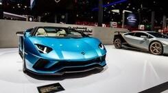 Lamborghini Aventador S Roadster, 740 cv open air