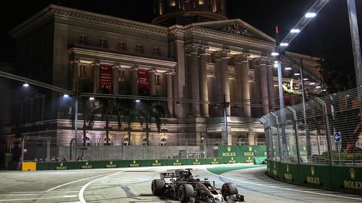 F1 Singapore, Pirelli: «Grande aumento della velocità rispetto al 2016»