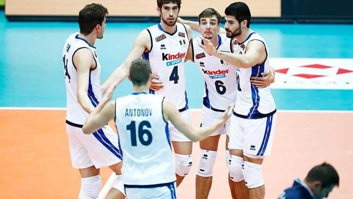 L'Italia centra la terza vittoria e affianca il Brasile in vetta