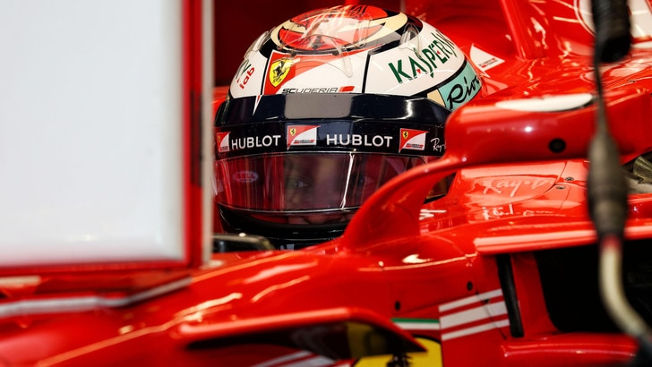 F1 Singapore, Raikkonen: «Proverò a fare una buona partenza»