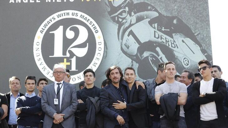 MotoGp: Aspar cambia nome e rende omaggio ad Angel Nieto