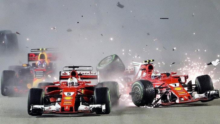 F1 Gp Singapore, Raikkonen: «Pagato caro, chiedete a Verstappen...»
