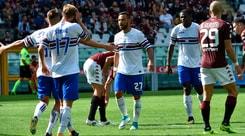 Serie A, Torino-Sampdoria 2-2: Quagliarella riprende i granata