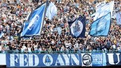 Napoli, che festa dopo il 6-0 sul Benevento