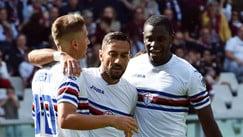 Torino-Sampdoria 2-2: l'ex Quagliarella firma il pari