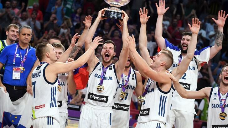 EuroBasket: Dragic piega la Serbia, Slovenia Campione!