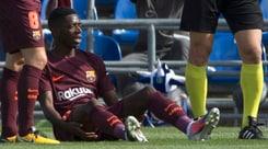 Barcellona, niente Juventus per Dembélé: torna nel 2018