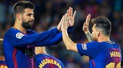 Liga, poker di Messi: il Barcellona stende l'Eibar 6-1. Valencia, tripletta per Zaza