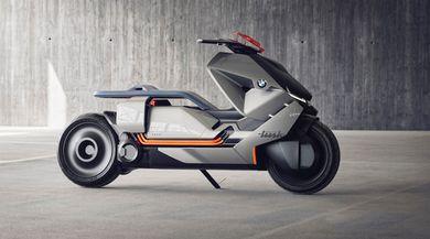BMW presenta lo scooter del futuro