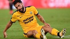 Serie A Verona, Verde: risentimento muscolare. Solo fisioterapia