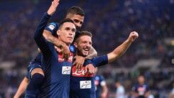 Serie A, Napoli a mille in lavagna: un'altra vittoria a 1,21