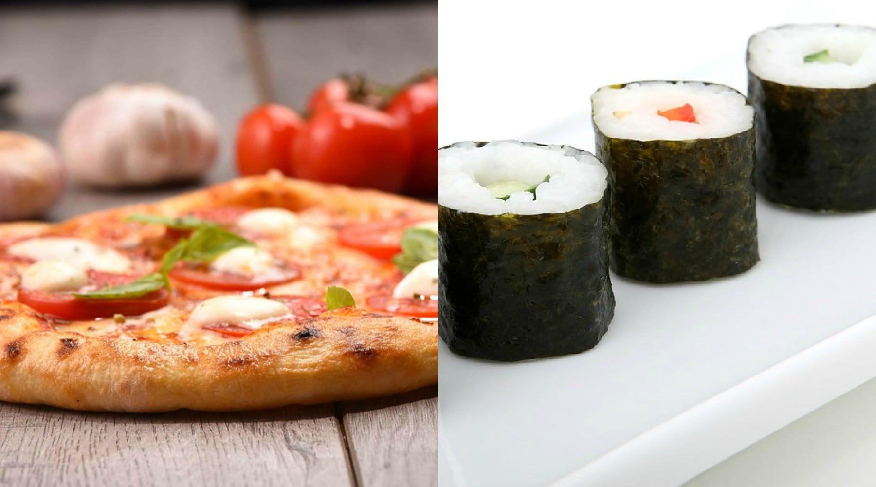 Juventus-Torino, ecco cosa mangiano i tifosi: pizza per i granata, sushi per i bianconeri