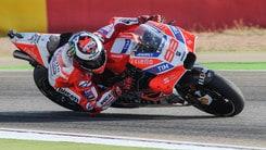 MotoGp Aragon, Lorenzo: «Prima fila inattesa»