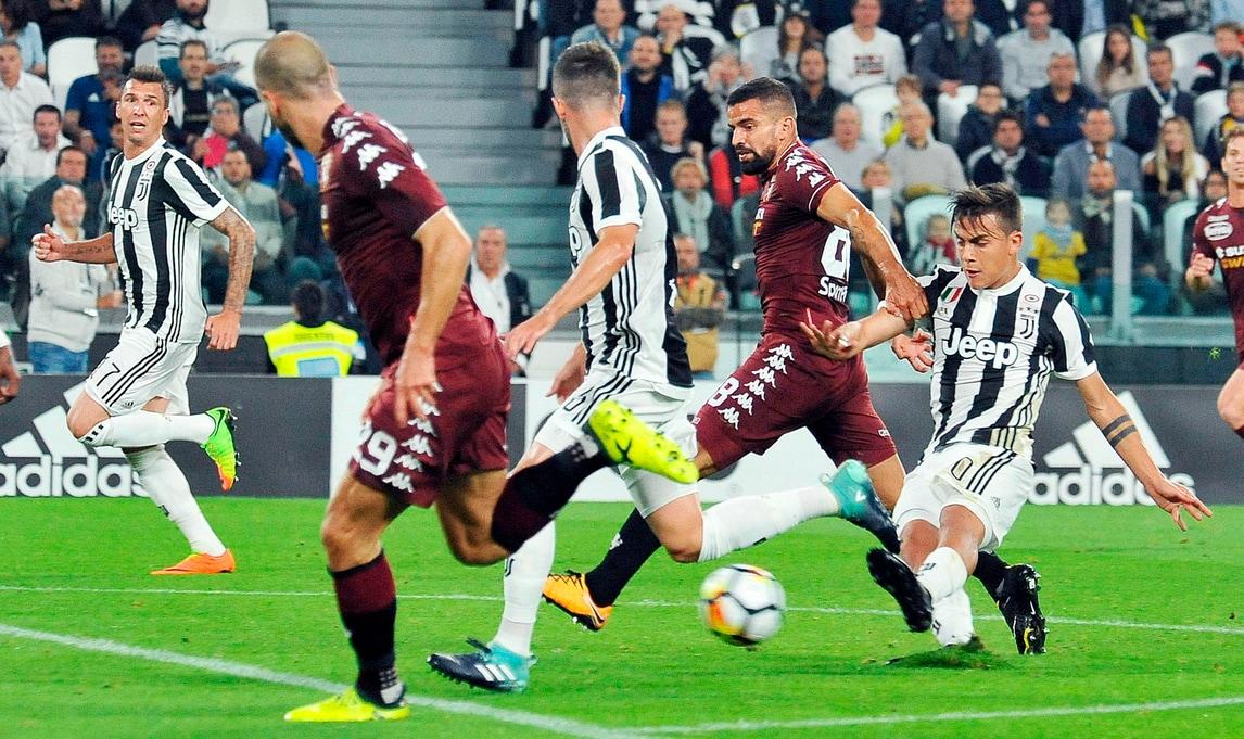 Serie A Juventus-Torino 4-0, il tabellino