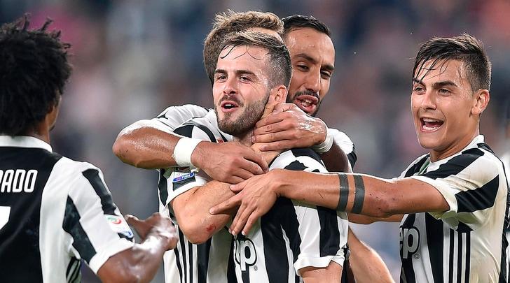 Juventus, Pjanic: «Grande partita, non abbiamo corso pericoli»