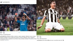 Juventus, la festa è social. Dybala: «Notte da 10». Buffon: «Vittoria meritata»