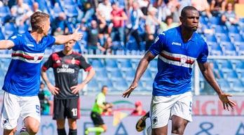 Sampdoria-Milan 2-0, con Zapata e Alvarez ritorno amaro per Montella a Marassi