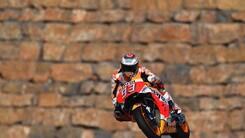 MotoGp Aragon: vince Marquez, quinto Rossi