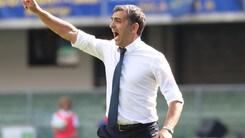 Serie A Verona, Pecchia: «Non mi sento in bilico, credono tutti in me»