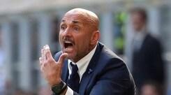 Inter, Spalletti: «Napoli e Juventus? C'è ancora un po' di differenza»