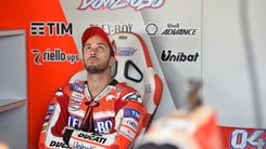 MotoGp Ducati, Dovizioso: «Settimo, ma ho dato il massimo»