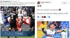 """Apoteosi Sampdoria. E Puggioni """"sbeffeggia"""" il Milan sui social"""