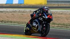 Moto2 Aragon, Sky Team: top ten per Bagnaia