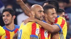 Zaza ancora decisivo, il Valencia piega la Real Sociedad